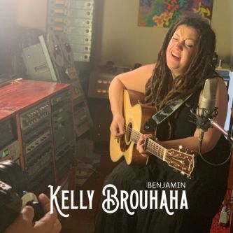KELLY BROUHAHA Benjamin Cover Art